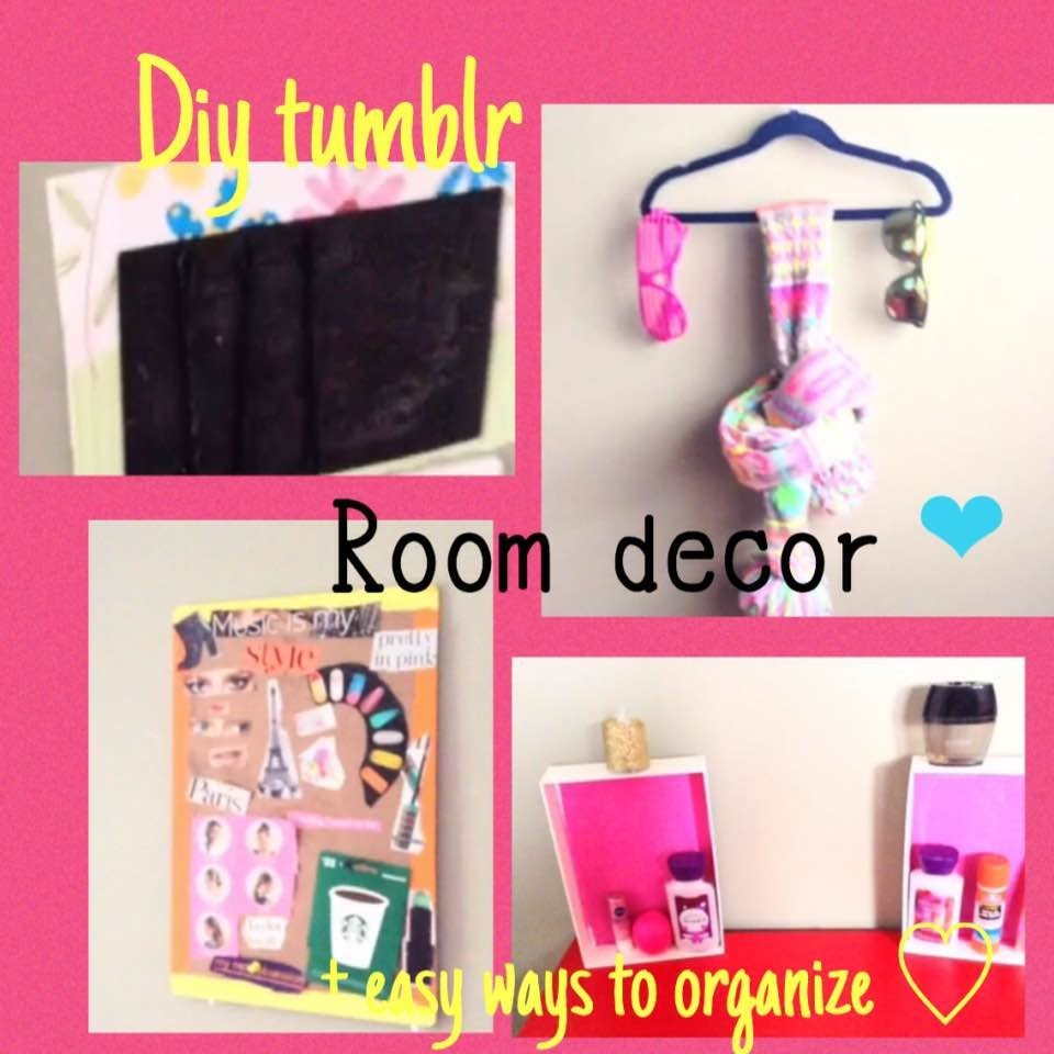 diy tumblr room decor easy ways to organize my crafts
