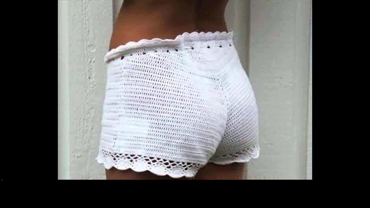 Easy crochet shorts pattern