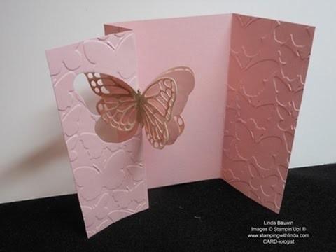 Flip Butterfly Card