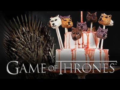 Game of Thrones Cake Pops   Dessert Ideas   Just Add Sugar