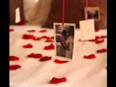 Homemade DIY romantic gift ideas