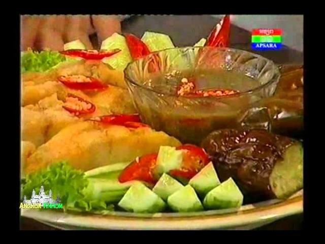 How to cook Khmer food   Cambodia dishes, recipe, cuisine   Khmer Food Today on Apsara 11 TV