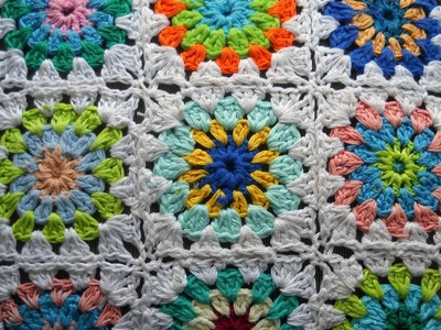 How To Crochet A Sunburst Granny Square - DIY Crafts Tutorial - Guidecentral