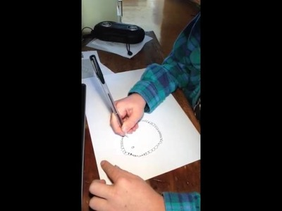 How to draw a lion in it's habitat