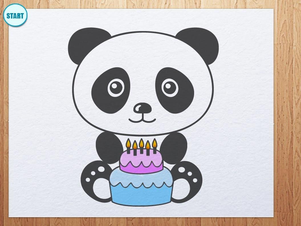 Как нарисовать открытку на день рождения подруге 9 лет поэтапно