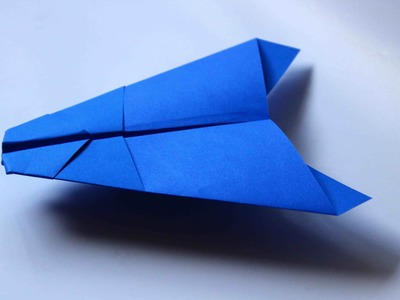 How to make a cool paper plane origami: instruction| UFO
