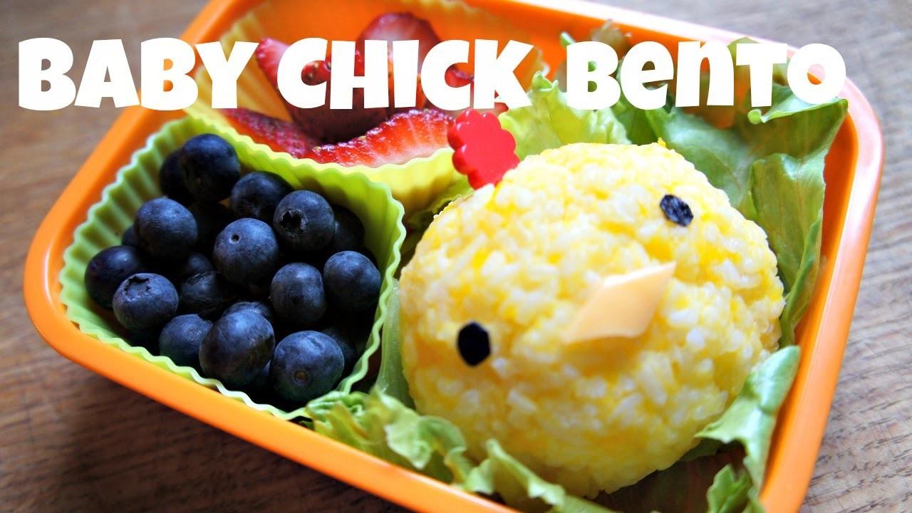 How to Make a Cute Chick Bento