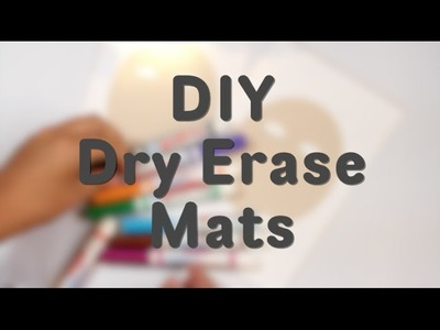 How to Make a Dry Erase Face DIY