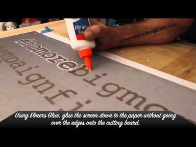 How-To Make a Screened Paper Stencil with Teachr - Los Angeles Street Art