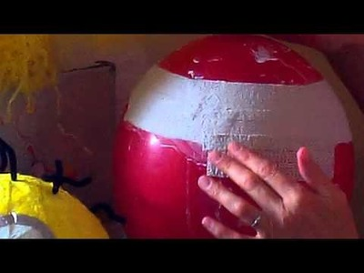 How to make an Easter Bonnet Hat using ModRoc Plaster Bandage