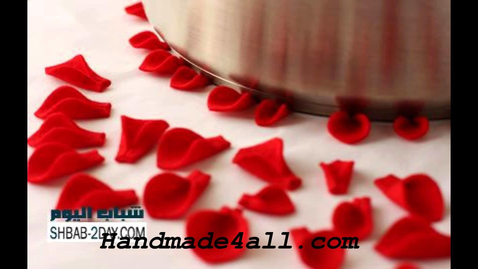 اویز نمدی اشپزخانه Цветок-брошь из фетра - Мастер-классы в картинках