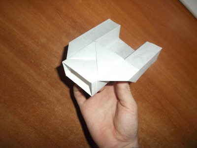 How to make the Flying Box paper airplane