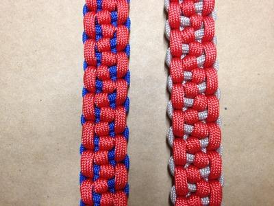 How to tie a Morse Code Bar Paracord Bracelet