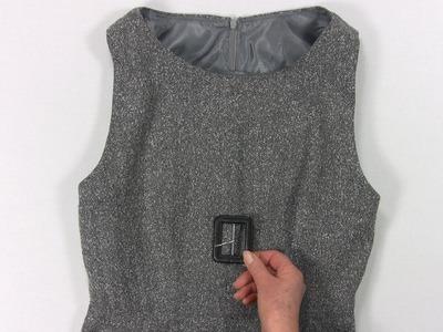 Make a Dress - How to Make a Lined Sleeveless Dress from Angela Kane - Part 1