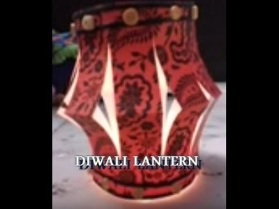 Make Lantern For Diwali With Paper At Home - DIY