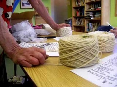 Nancy Today: Natural dye (4) Mordants ASMR Sheep weaving 'Sounds of Nature'