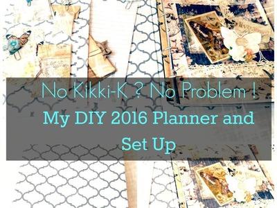 No Kikki-K Yet ? No Problem ! My DIY 2016 Planner and Set Up