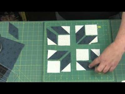 Part 1, Tutorial using Y Seams from Block 45, Wings