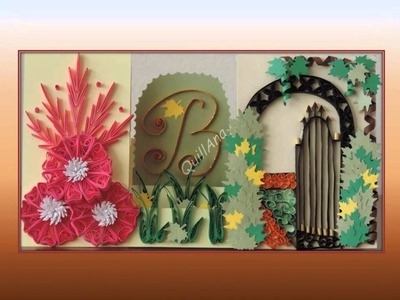 Quilling ideas.