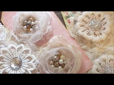 Shabby Chic Style Flowers and an Altered Box Inspired by Lele
