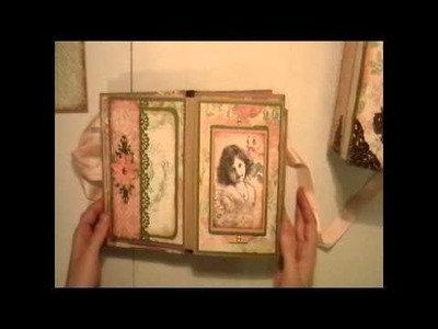 Vintage French Country Mini Album and Altered Box