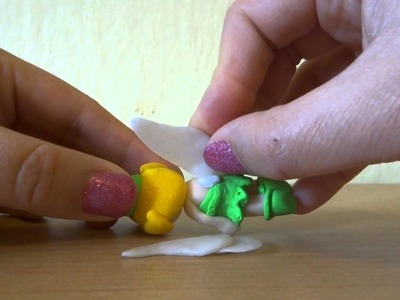 How to attach polymer clay parts after baking? Tutorial 1