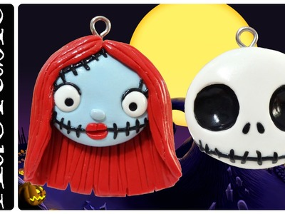 Kawaii Nightmare Before Christmas | Polymer Clay Charms |