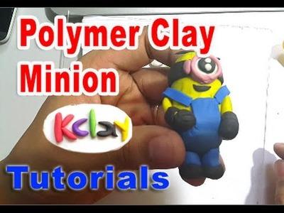 Minions Polymer Clay Tutorial - KClay Channel