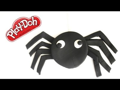 Play Doh Spider Halloween How to DIY