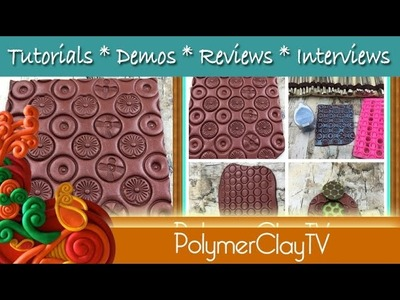 Adding Texture on Texture on Polymer Clay