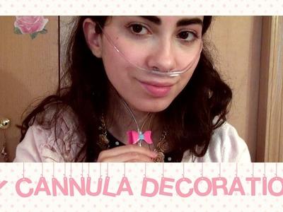 DIY: Cannula Decorations