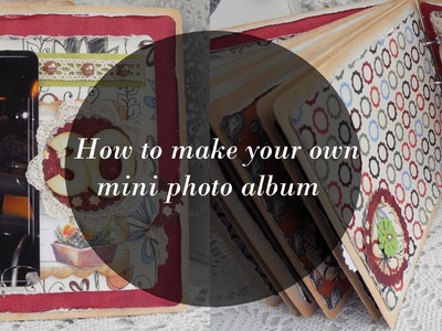 DIY | How to make your own photo album