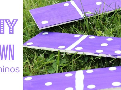 DIY Lawn Dominos (Double 7's) | Alexa's DIY Life