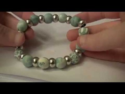 How to Make a Polymer Clay Bracelet