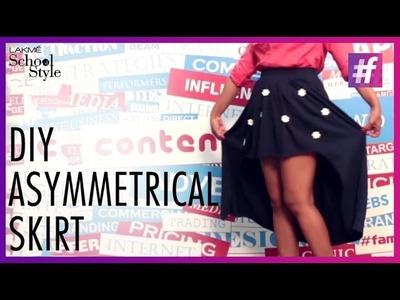 How To Make DIY Asymmetrical Skirt | #LakmeSchoolofStyle