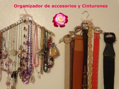 Manualidades de Organizador de Accesorio y Cinturones (Organizer accessories and belts)