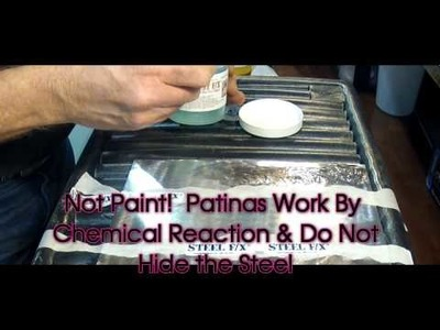 New!  Polymer Gel Patinas for Steel.