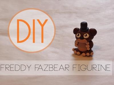 FnaF Freddy Fazbear Figurine Tutorial [Polymer Clay]