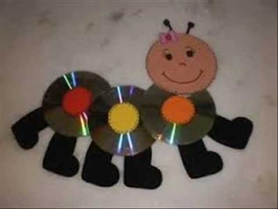 Manualidades con cd para niños facil simple