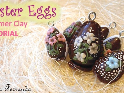 Miniature Polymer Clay Chocolate Easter Eggs Tutorial