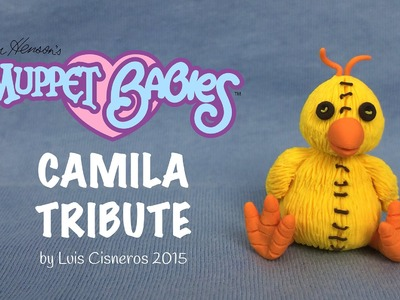 Polymer Clay Tutorial - How to create CAMILA stuffed animal tribute from the TV show Muppet Babies