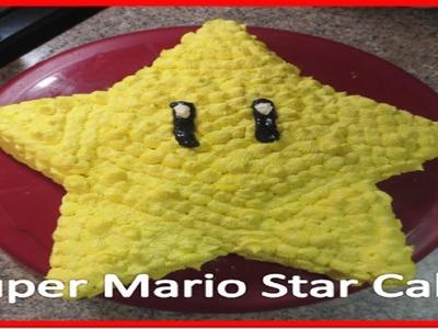 Super Mario Brother Star Cake - DIY!