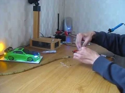 DIY how to make brake and small light using LED tape