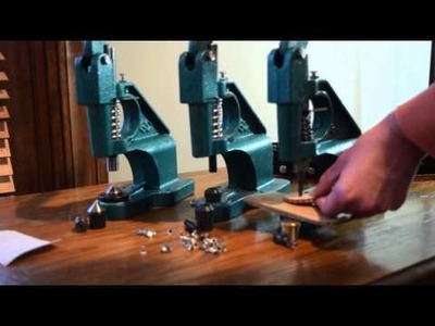 Diy How to Set a Rivet using a  Rivet Tool