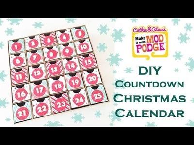 DIY Kids Countdown to Christmas Calendar