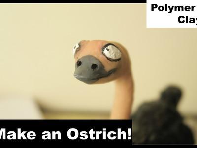 Make an Ostrich! (Polymer Clay)