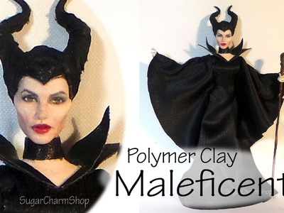 Maleficent Inspired (Poseable) Doll - Polymer Clay Tutorial