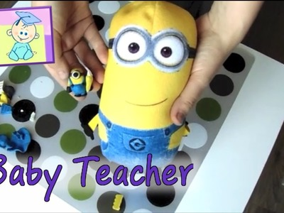 Minion out of polymer clay  | From Baby Teacher