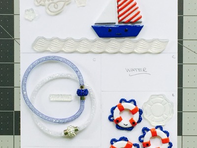 Polymer Clay Tutorial: Kawaii Nautical Lifesaver