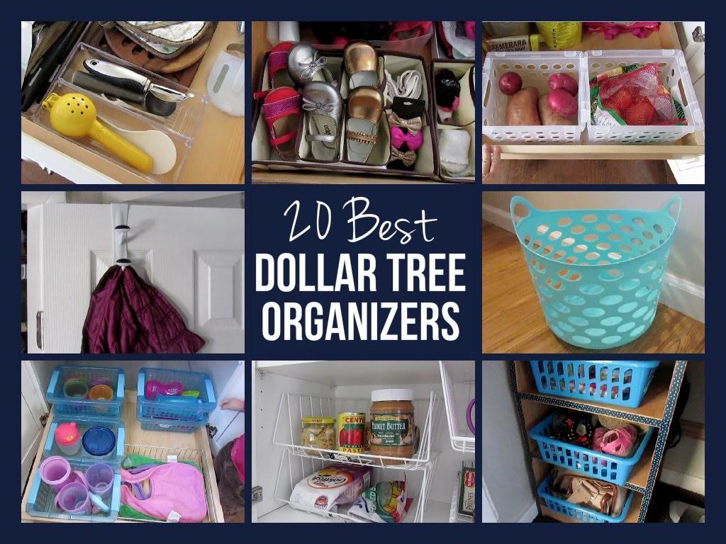 20 BEST DOLLAR TREE ORGANIZERS